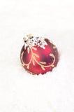 De rode snuisterij van Kerstmis Stock Fotografie