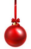 De rode Snuisterij van Kerstmis Stock Foto's