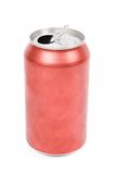 De rode soda kan Stock Afbeelding