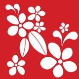 De rode stijl van Hawaï vector illustratie