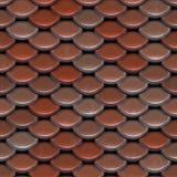 De rode Tegels van het Dak Stock Foto