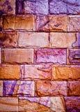 De rode textuur van de baksteen Stock Fotografie