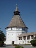 De rode Toren van de Poort Stock Foto's