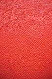 De rode Verticale Achtergrond van het Leer, royalty-vrije stock afbeelding