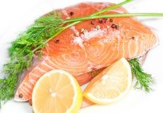 De rode vissen van de zalm Stock Afbeelding