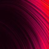 De rode vlotte achtergrond van draai lichte lijnen. EPS 8 Royalty-vrije Stock Fotografie