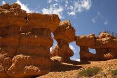 De rode Vorming van de Rots van de Canion Stock Afbeeldingen