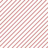 De rode witte diagonale achtergrond van het streeppatroon het patroon van iagonallijnen Herhaal de rechte achtergrond van de stre royalty-vrije illustratie