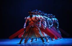 De roeier-tweede handeling van de gebeurtenissen van dans drama-Shawan van het verleden Stock Fotografie
