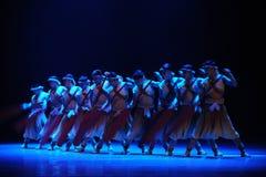 De roeier-tweede handeling van de gebeurtenissen van dans drama-Shawan van het verleden Royalty-vrije Stock Fotografie