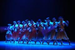 De roeier-tweede handeling van de gebeurtenissen van dans drama-Shawan van het verleden Royalty-vrije Stock Foto