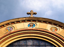 De Roemeense Orthodoxe Koepel van de Kerk Stock Afbeeldingen