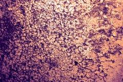 De roest en de het metaaloppervlakte van het erosieijzer hadden schade door weathe royalty-vrije stock foto