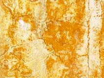 De roestige Achtergrond van de Muur Stock Afbeelding