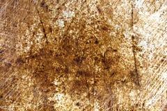 De roestige oppervlakte van het bladmetaal in krassen royalty-vrije stock afbeeldingen