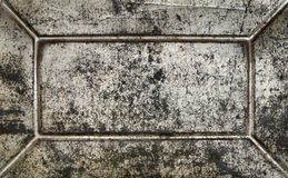 De roestige oppervlakte van het grungemetaal Royalty-vrije Stock Afbeelding