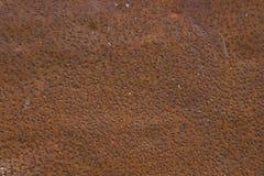 De roestige Plaat van het Metaal Stock Fotografie