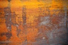 De roestige Textuur van het Metaal Stock Afbeeldingen