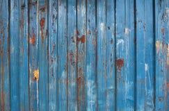 De roestige textuur van zinkbladen Stock Foto