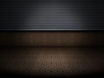 De roestige vloer van het metaal Royalty-vrije Stock Fotografie
