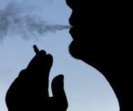 De roker Royalty-vrije Stock Afbeeldingen