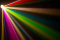 De rokerige laser toont Stock Fotografie