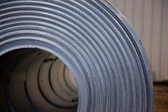 De rol van het staal Stock Fotografie