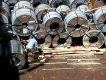 De rol van het staalbroodje in greep Stock Foto's