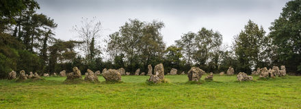 De Rollright stenarna Arkivfoton