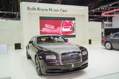 De Rolls Royce-Spook Standaardwielbasis het Majestueuze Paard Stock Afbeelding