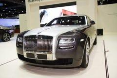De Rolls Royce-Spook Standaardwielbasis het Majestueuze Paard Stock Afbeeldingen