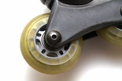De rolschaatsen stock afbeelding