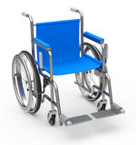 De rolstoel Stock Afbeeldingen