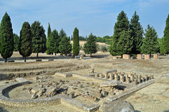 De Roman ruïnes van Italica Royalty-vrije Stock Fotografie