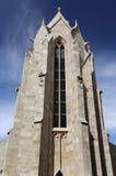 De romanesque-Gotische Kerk Royalty-vrije Stock Afbeelding