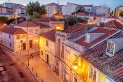 De romantische straat van Lissabon royalty-vrije stock foto's