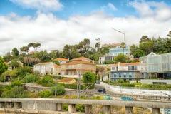 De romantische straat van Lissabon stock foto