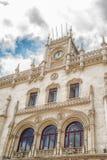 De romantische straat van Lissabon royalty-vrije stock foto