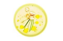 De Romige Soep van de paddestoel Royalty-vrije Stock Afbeelding