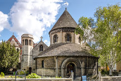 De Ronde Kerk van Heilig Grafgewelf, Cambridge Stock Fotografie