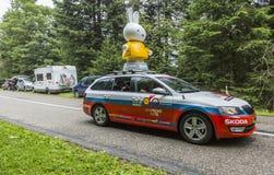 De Ronde van Frankrijk 2014 van de Nijntjecaravan Le Stock Afbeeldingen