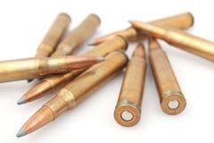 De rondes van munitie Stock Foto's
