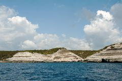 De rondvaart rond het Eiland Corsica Royalty-vrije Stock Foto's