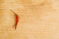 De roodgloeiende Peper van de Spaanse peper Stock Fotografie