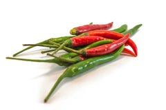 De roodgloeiende Peper van de Spaanse peper Stock Afbeelding