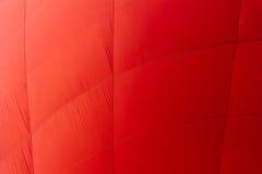 De roodgloeiende stof van de luchtballon Stock Fotografie
