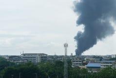 De rook die de atmosfeer vernietigt Royalty-vrije Stock Fotografie