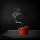 De rook van de kaars Stock Afbeelding