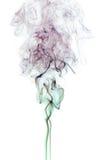 De Rook van de kleur op Wit Royalty-vrije Stock Foto's