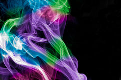 De rook van de regenboog royalty-vrije stock afbeeldingen